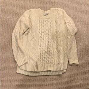 Madewell fisherman cotton sweater